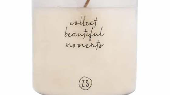 "Geurkaars ""Collect beautiful moments"""