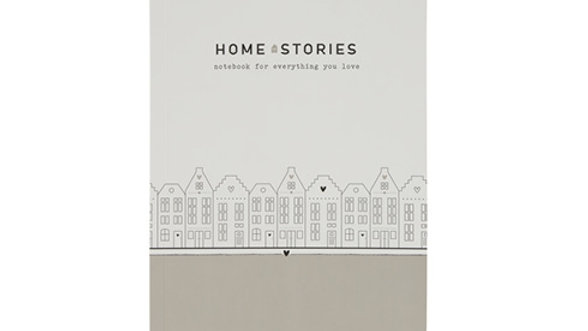 "Notebook A5 ""Home stories"" notebook for everything you love"