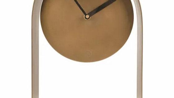 Tafelklok 30 x 17 x 5cm brons