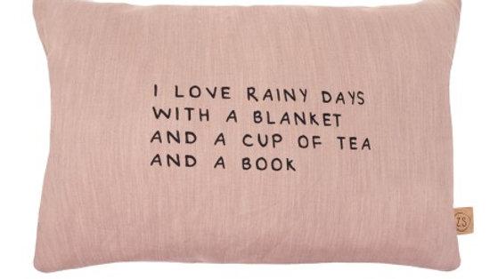 Kussen Rainy days 40 x 60cm