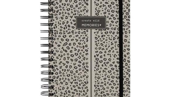 """Notebook A5 Wire """"Create wild memories"""""""