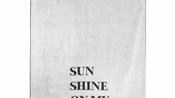"Strandlaken ""Sunshine on my mind"" 90cm x 200cm"