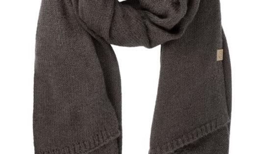 Warme brei sjaal grafiet