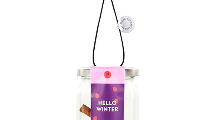 "Mix voor winterse coctail ""Hello Winter"""