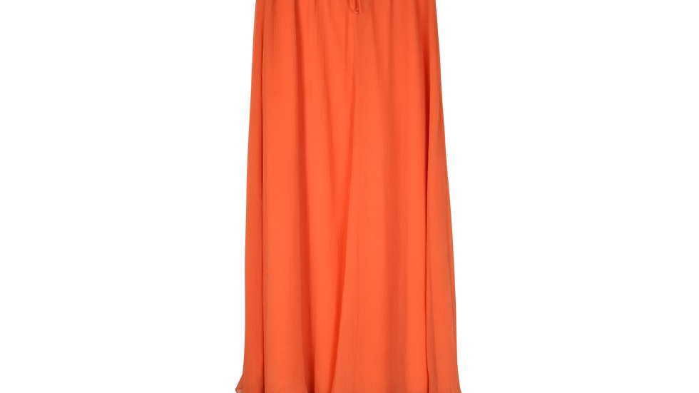 Lange rok Kampi oranje