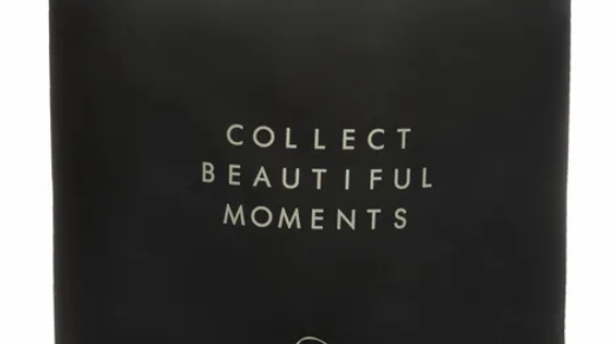 """Geurkaars large """"Collect beautiful moments"""""""