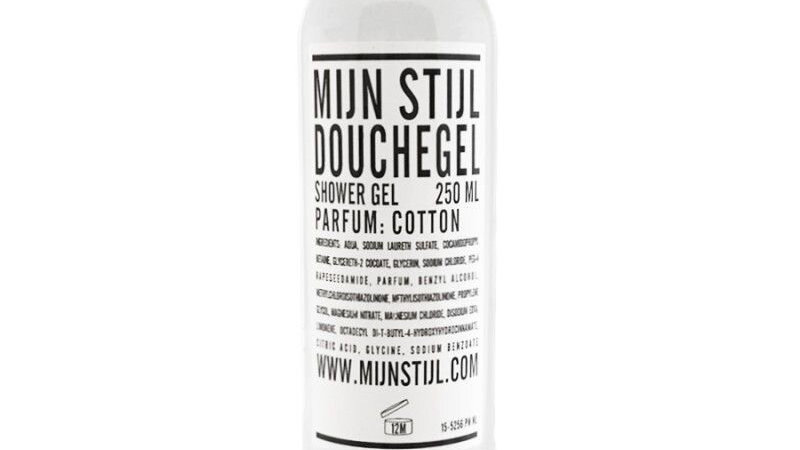 Douchegel 250ml - Cotton -transparante fles