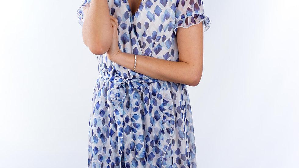 Long dress Charlotte Blue