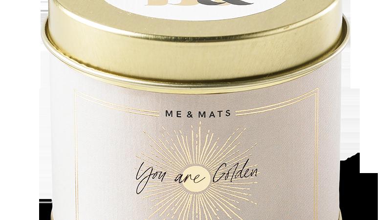 "Geurkaars ""You are golden"""