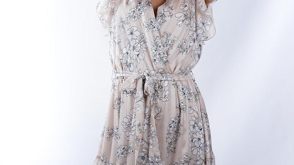 Long dress Julie Crema
