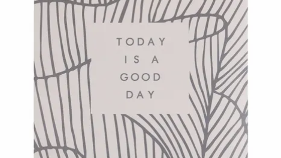 """Geurzakje """"Today is a good day"""" - Fresh cotton"""