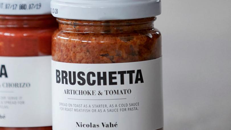 Bruschetta Artichoke & Tomato