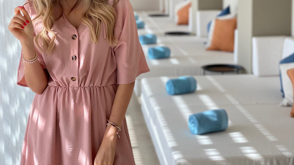 Short dress Emilia Pink
