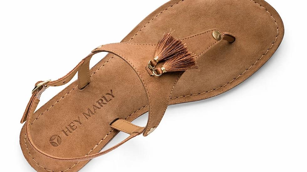 Lederen sandalen Pom de Paris - 2 kleuren