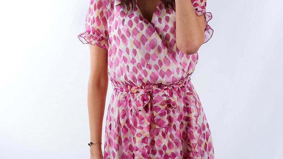 Long dress Charlotte Pink