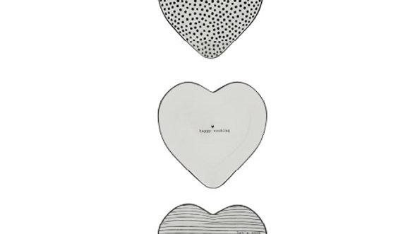 Spoon Holder Heart  13x13 cm - 3 modellen mogelijk