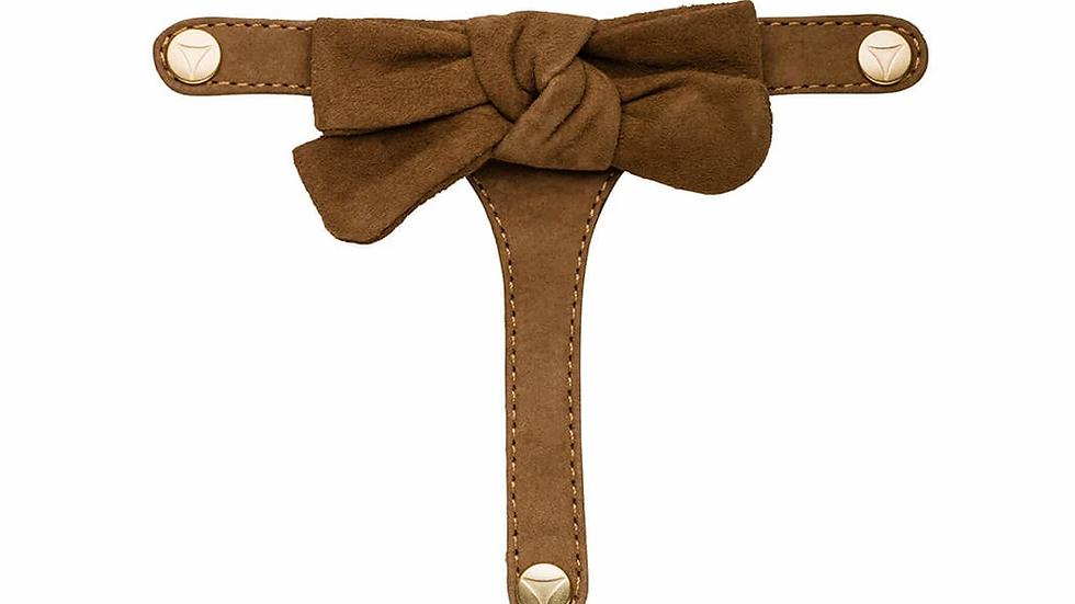 Topping Pretty Bow Camel - Set van 2 stuks