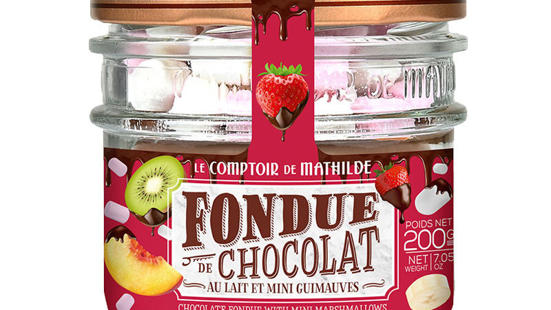 Kant & klare chocolade fondue