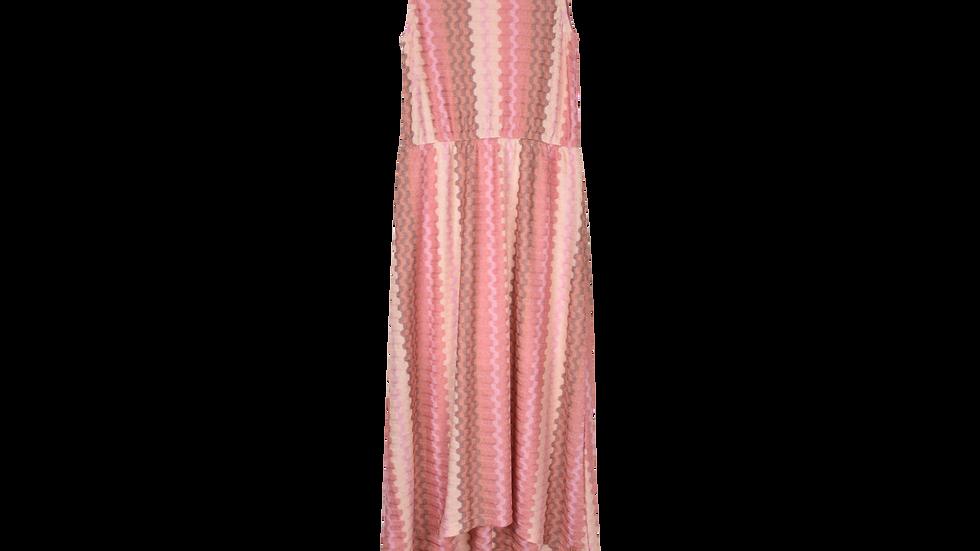 Dress Pink Wave Knit Miracles