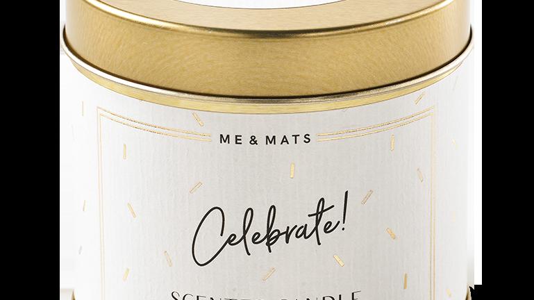 """Geurkaars """"Celebrate"""""""
