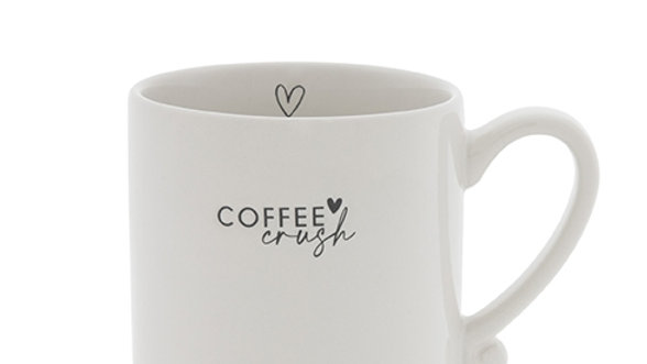 Mug White /Coffee Crush 8x 7 cm