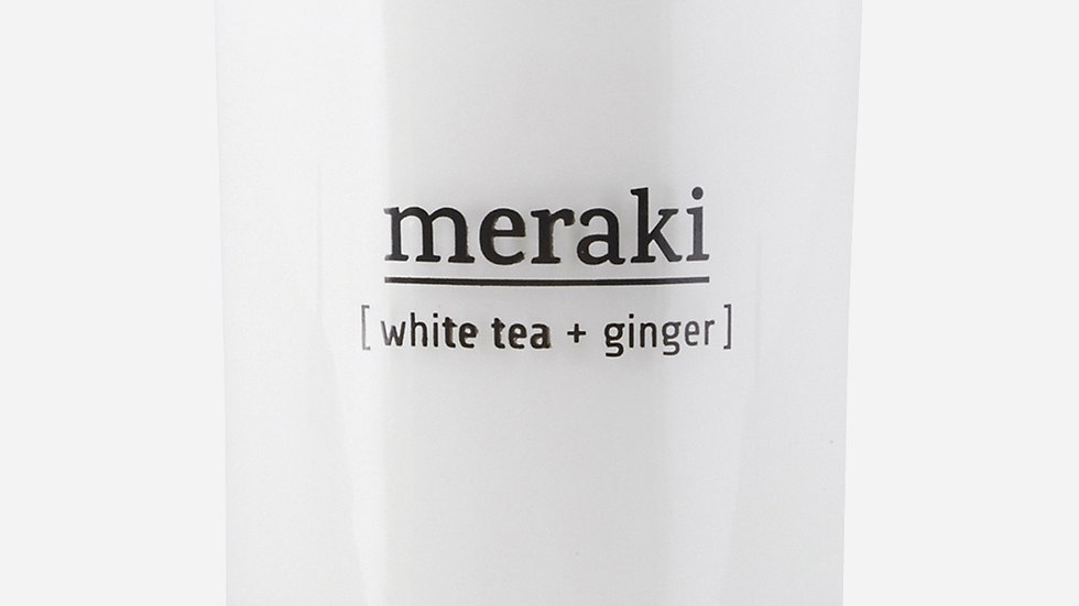 Geurkaars Meraki White Tea & Ginger