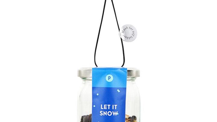 """Mix voor zelfgemaakte Gin  """" Let it Snow"""""""