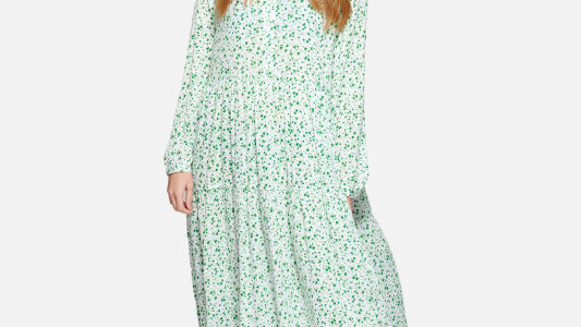 Long Dress Axelle Green