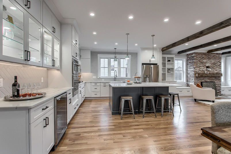 Completly Open Concept Kitchen