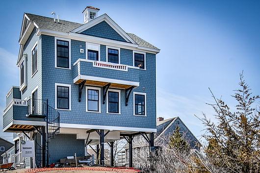 Custom Made Blue Stilt Home on K Street
