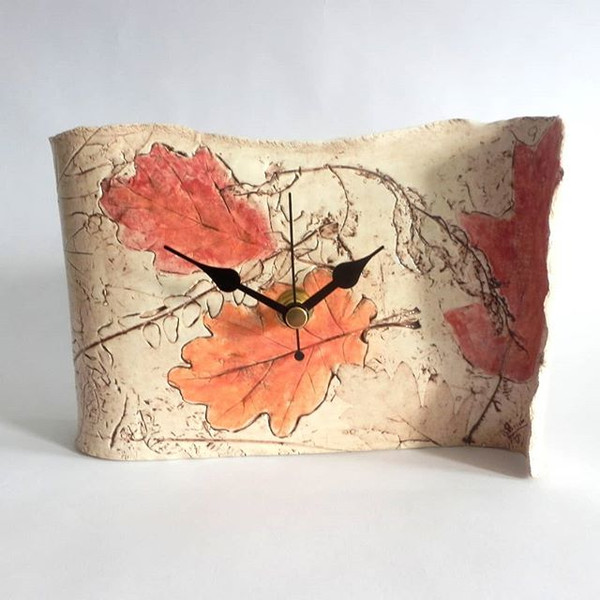 Forest Mantle Clock