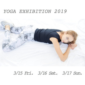 YOGA EXHIBITION 2019 in 六本木に参加いたします!