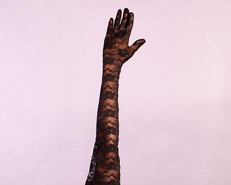 LUVA MADAME BLACK