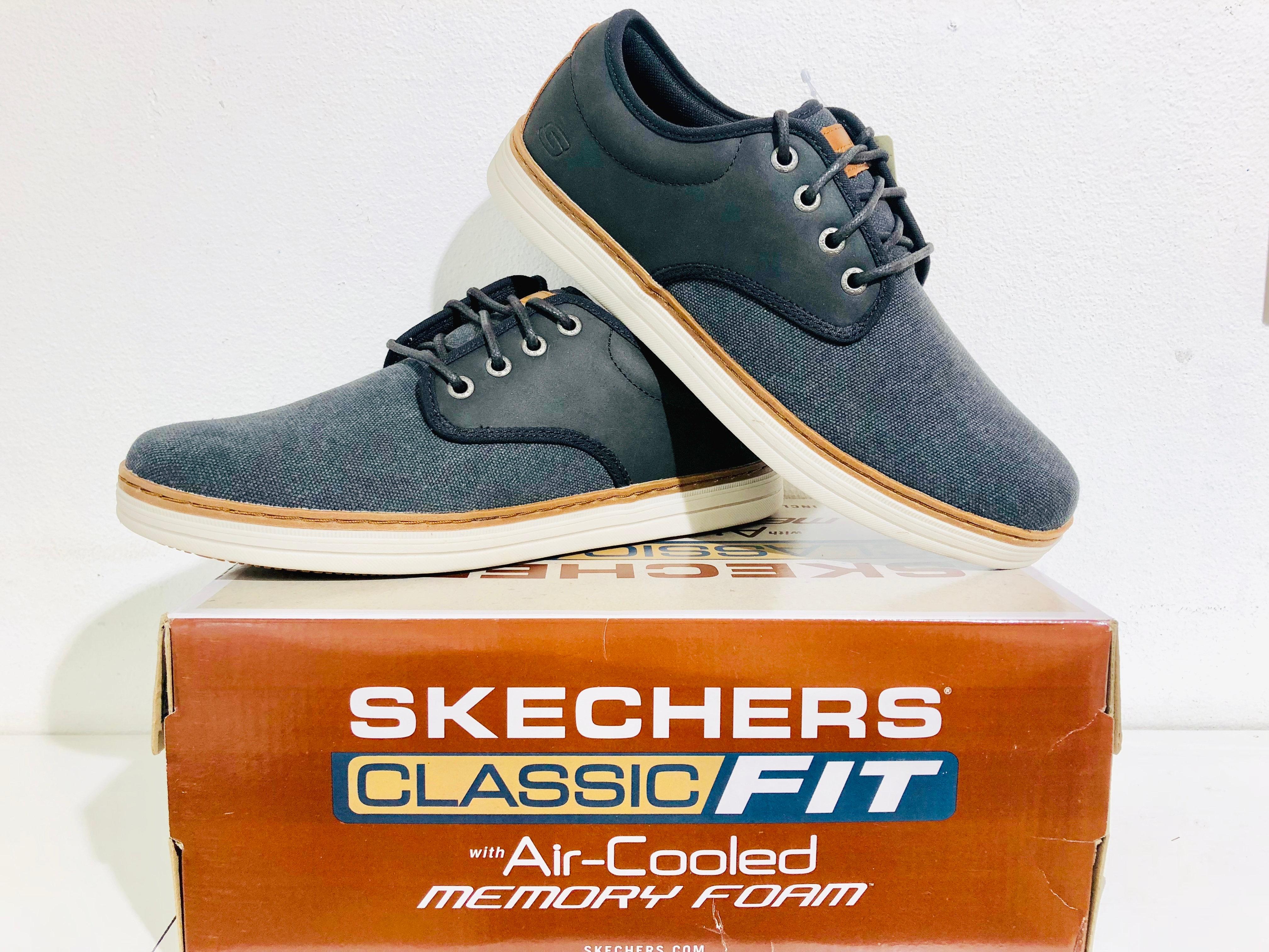 Memory Memory Black Mens Foam Skechers Mens Skechers bf6g7IYvy