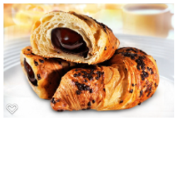 french croissant chocolate