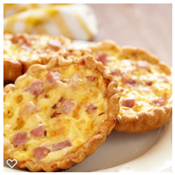 quiche loraine ham cheese mon paris coffee shop and bakery fort myers