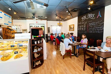 Mon Paris bakery Fort Myers and Cape Coral french italian german bakery crepes