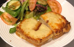 schnitzel cheese salad mon paris coffee shop and bakery fort myers