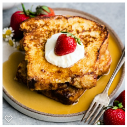 french toast strawberry whipped cream mon paris coffee shop and bakery fort myers
