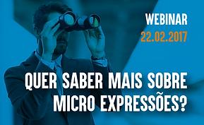 Webinar Micro Expressões