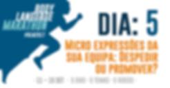 Body Language Marathon Micro Expressões
