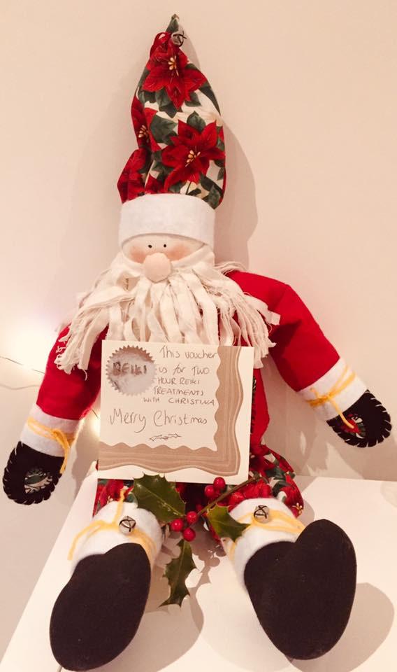 christmas reiki vouchers treatment course brentwood essex merrymeade