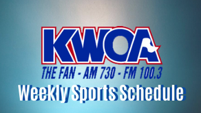 KWOA Sports Broadcast Schedule for the Week of 10-26-2020