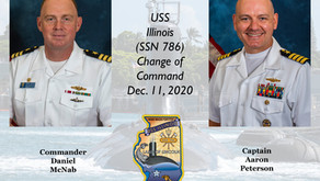 Brewster native named USS Illinois commander