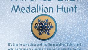 Worthington Winterfest Medallion Hunt clues