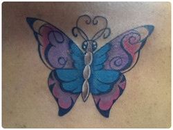 Custom Butterfly with Initials