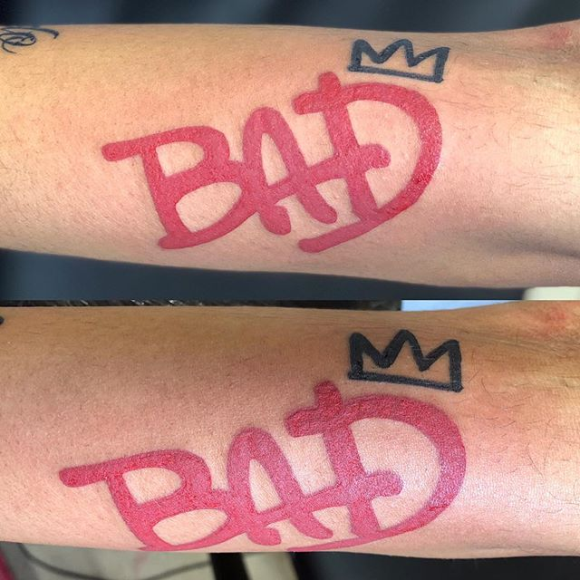 Who's BAD! #notwtattoo#walkintattoo#mj#m