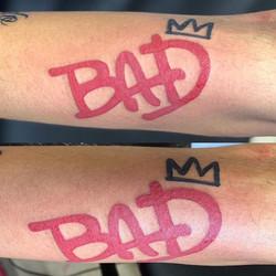 Who's BAD! #notwtattoo#walkintattoo#mj#m