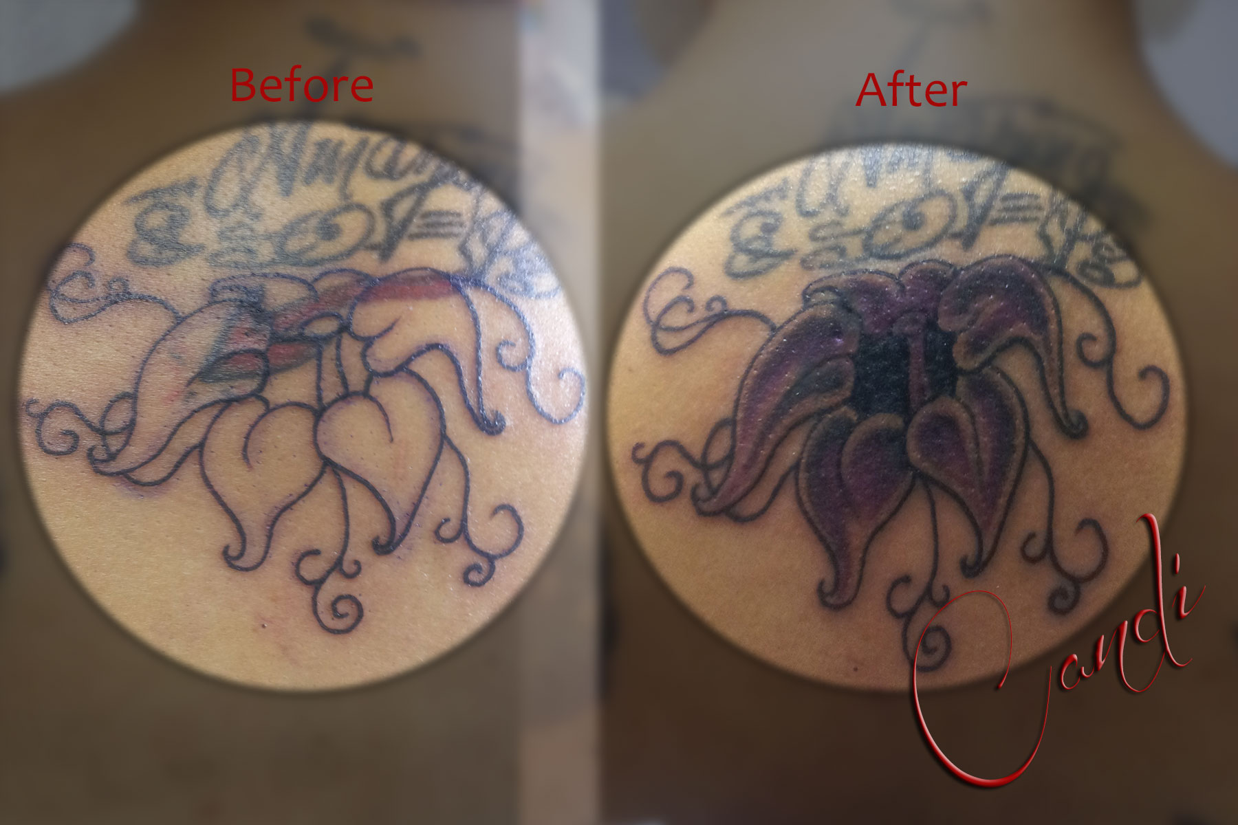 Cover-Up with Flower