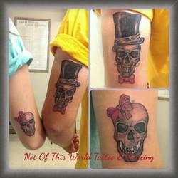 His Her Skulls